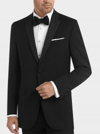 BLACK by Vera Wang Black Slim Fit Tuxedo