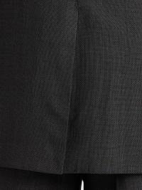 LAUREN BY RALPH LAUREN BLACK & WHITE BIRDSEYE CLASSIC FIT SUIT
